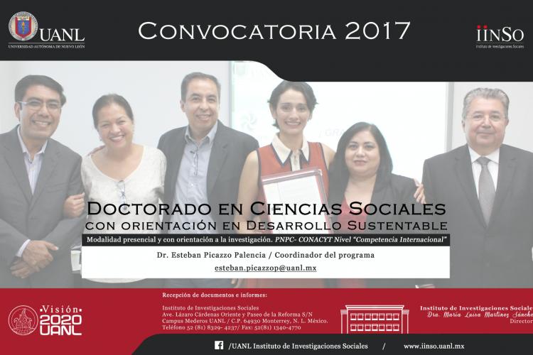 Convocatoria Doctorado 2017