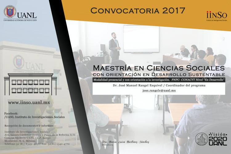 Convocatoria Maestría 2017