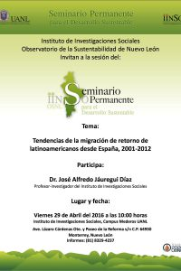 Seminario permanente invitación 29 abril 2016